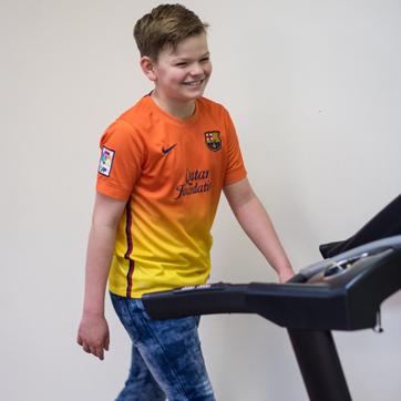 KInderfysiotherapie Breda, Ginneken, Loopband, Fitness,looppatroon, grote motoriek