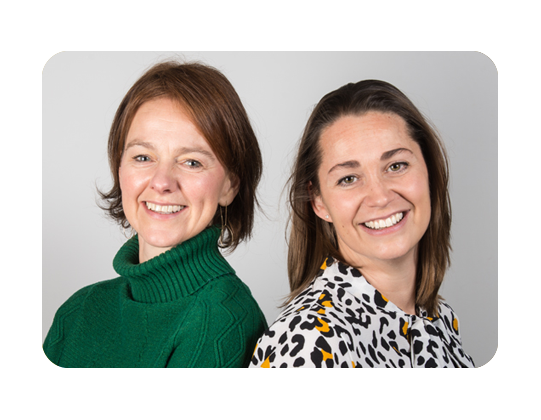 Danielle v Alphe en Frederique vd Plas , kinderfysiotherapie Breda